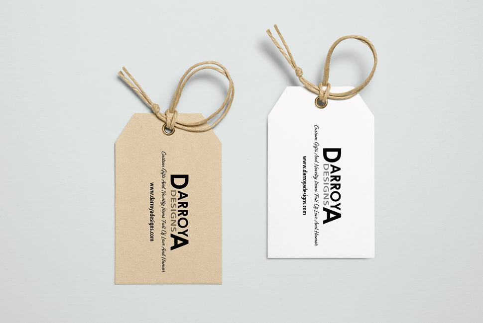 D Arroya Designs Clothing Tags