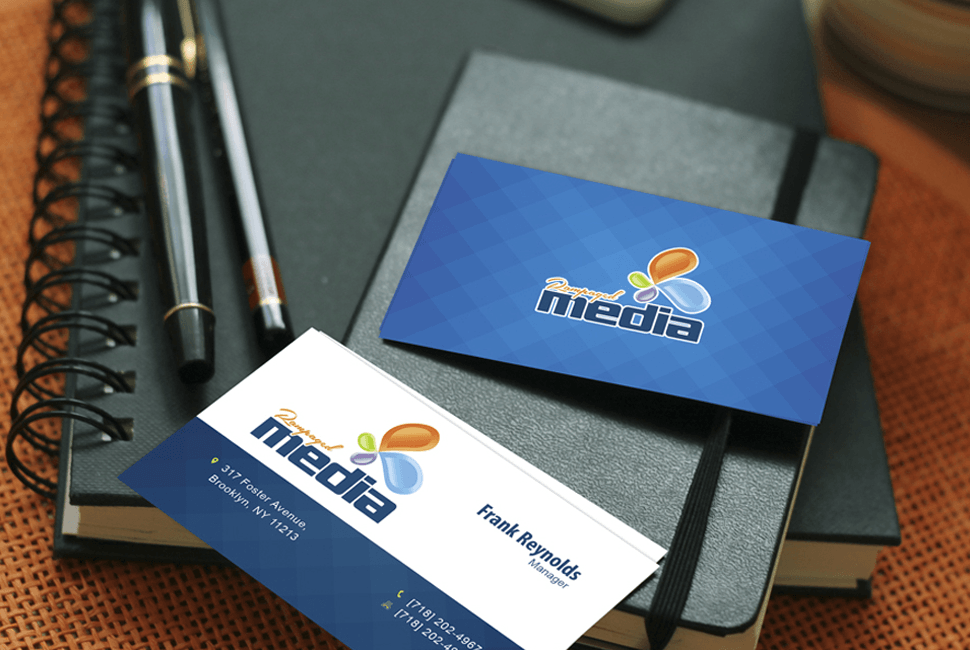 Rampaged Media Business Cards