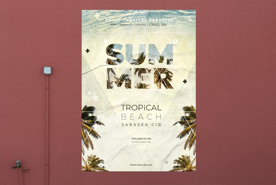 Sea Club Poster